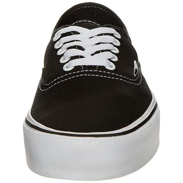 Authentic Schwarz Sneakers Lite Canvas Vans BthosrCQdx
