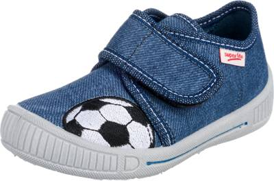 superfit, Baby Hausschuhe BULLY für Jungen, WMS Weite M3, blau