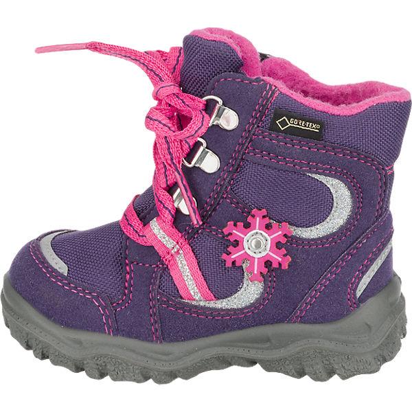 superfit Baby Winterstiefel HUSKY für Mädchen, GORE-TEX, Weite M4, gefüttert lila