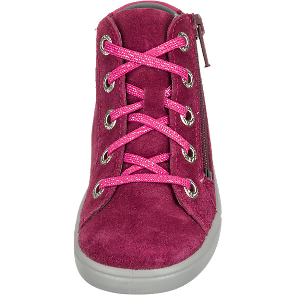 superfit Sneakers High MARLEY für Mädchen, Weite M4 pink