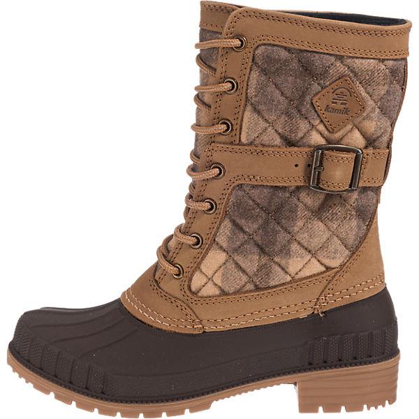 kamik kamik Sienna Sienna Sienna Stiefel wasserdicht beige  Gute Qualität beliebte Schuhe 65490e