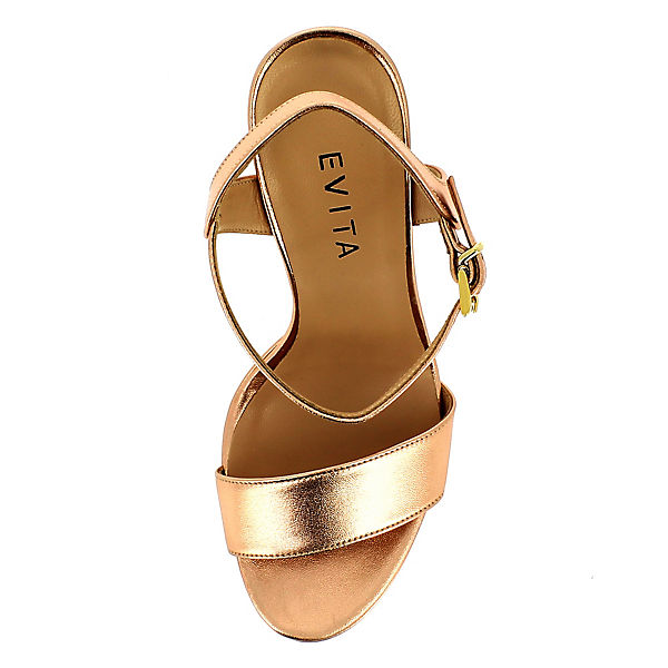 Evita Shoes, Sandaletten, Evita Shoes Sandaletten, Shoes, bronze   e57b41