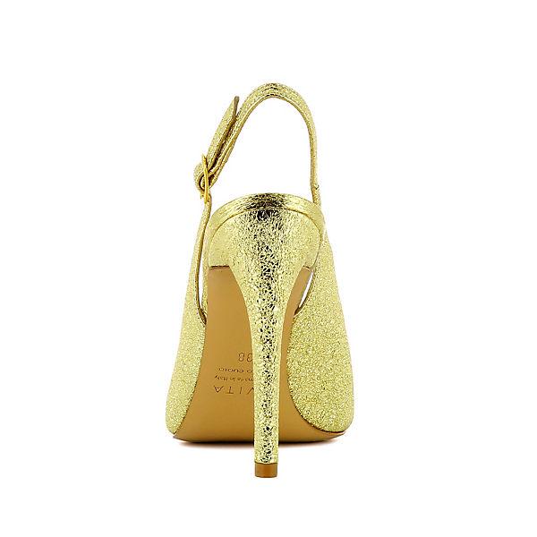 Evita Shoes, Evita Shoes Pumps, gold  Gute Qualität beliebte Schuhe