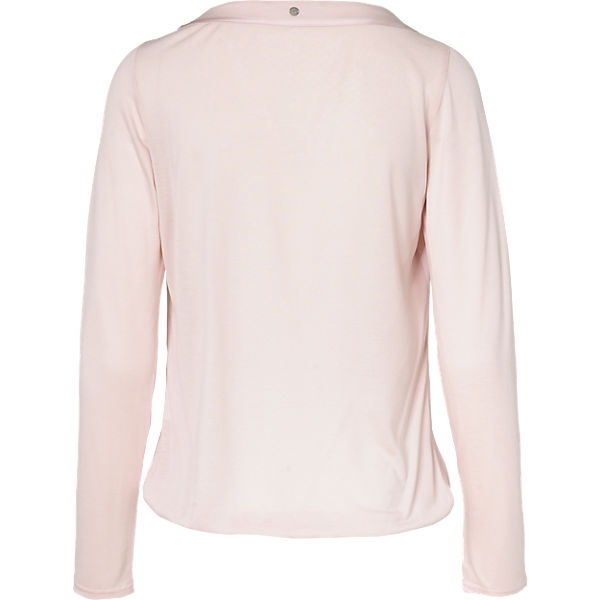Comma Casual rosa rosa Identity Langarmshirt Identity Casual Langarmshirt Comma w8q1CxCO