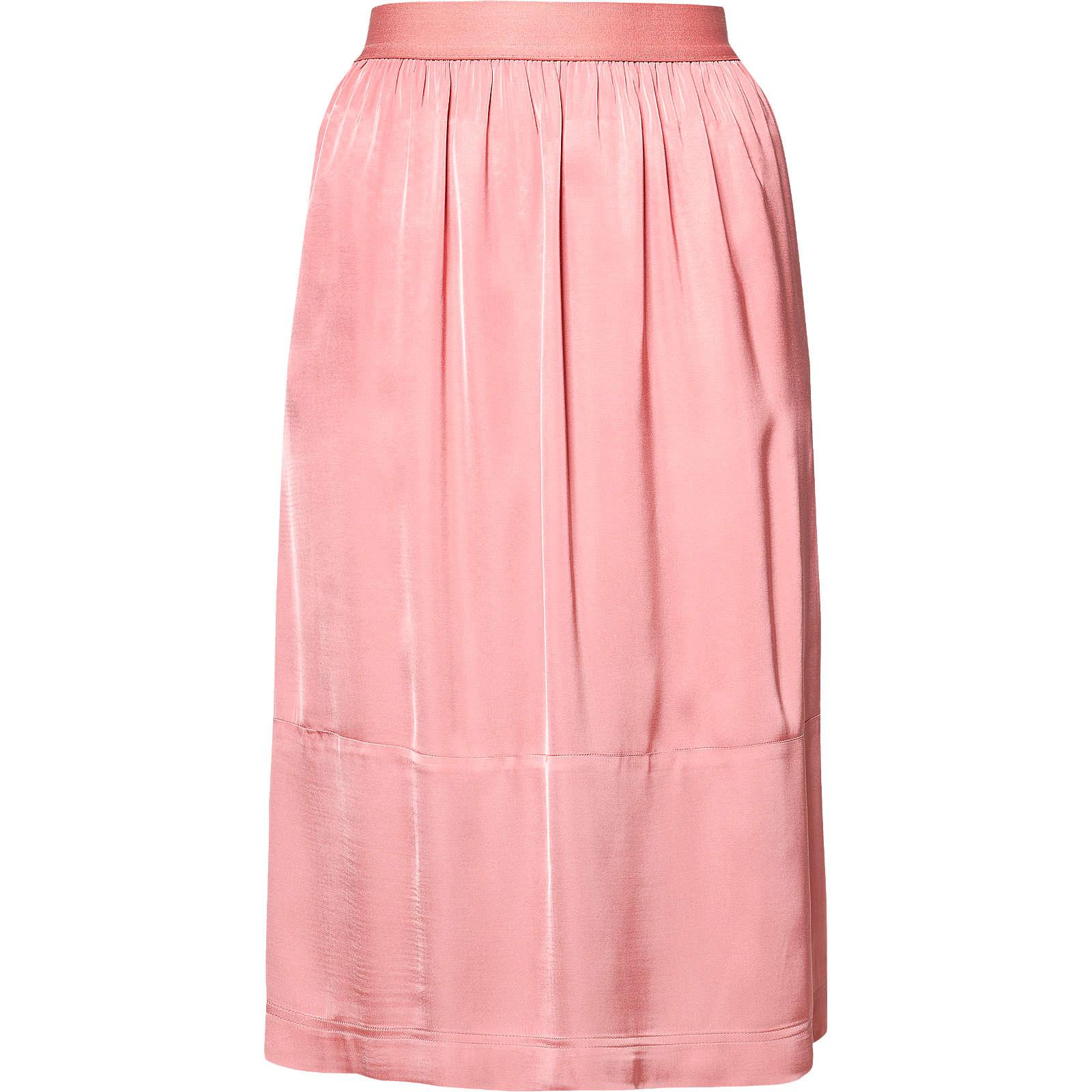 MARC O´POLO Faltenrock rosa Damen Gr. 44