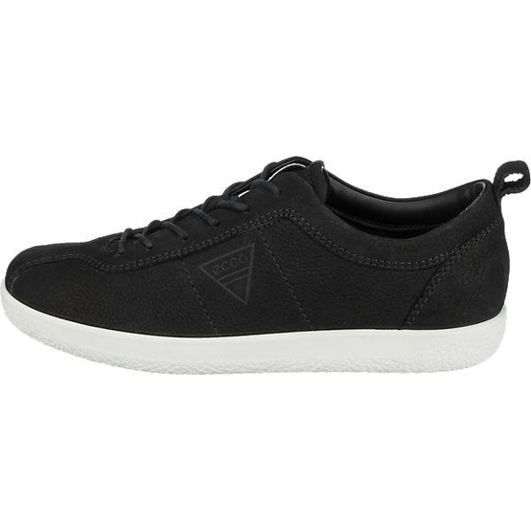ecco ecco Soft 1 Ladies Sneakers schwarz