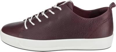 ecco, ecco Soft 8 Ladies Sneakers, rot | mirapodo