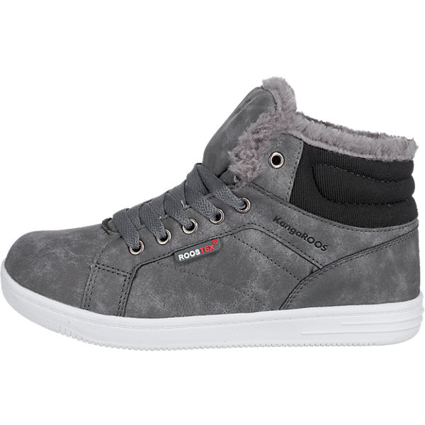KangaROOS Sneakers High VUKA, TEX, WMS-Weite M, für Jungen grau