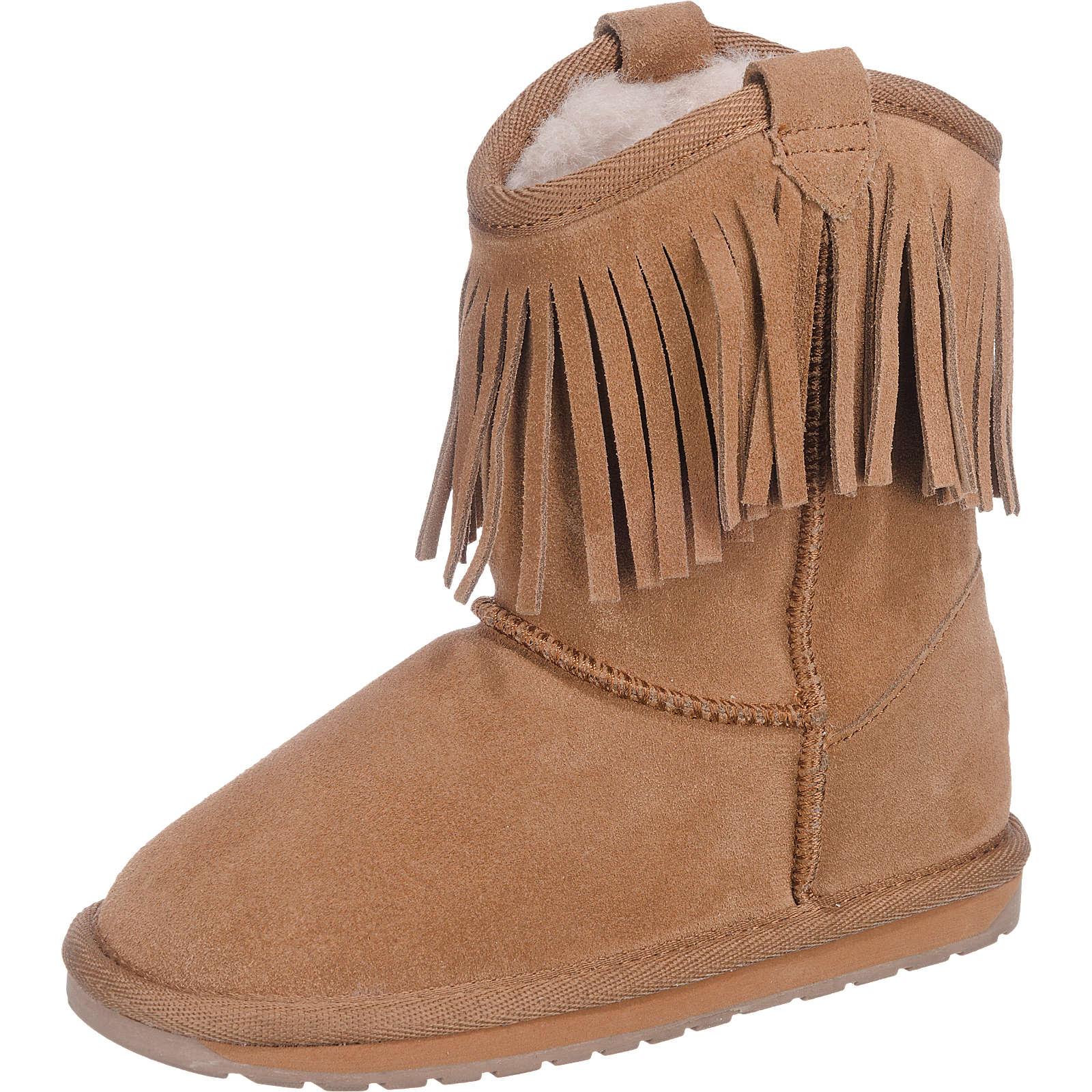 EMU Australia Winterstiefel Glaziers Kids für Mädchen hellbraun Gr. 28 jetztbilligerkaufen