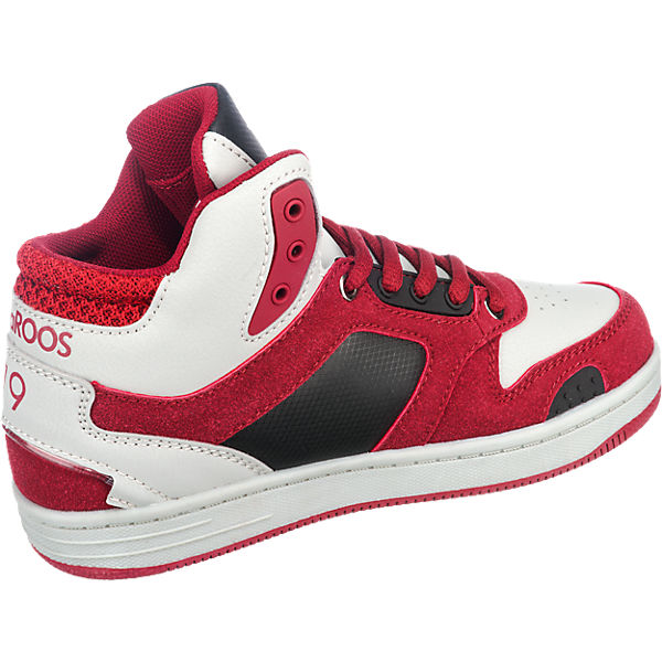 KangaROOS Sneakers High K-BASKLED II LED Blinkies, für Jungen rot