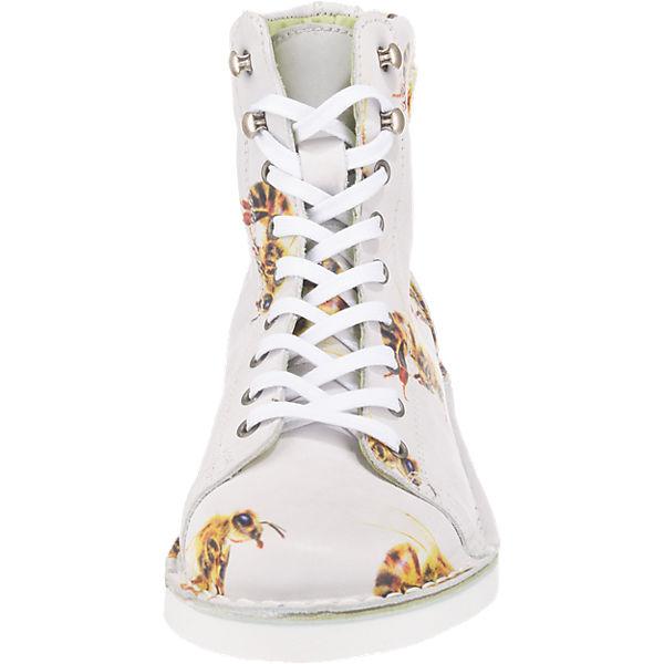 GRÜNBEIN GRÜNBEIN Louis Stiefeletten weiß-kombi  Gute Qualität beliebte Schuhe