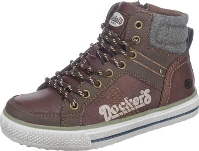 Dockers by Gerli Sneakers High für Jungen braun