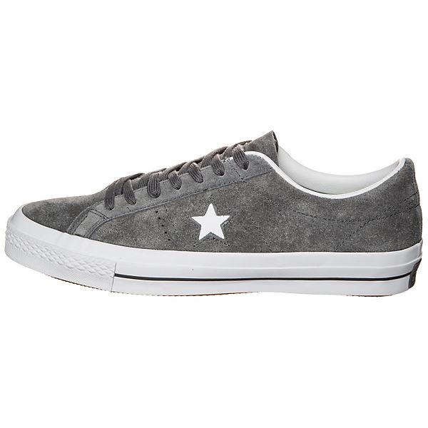 Star Sneaker One Converse Suede Cons grau CONVERSE w6PtqFX