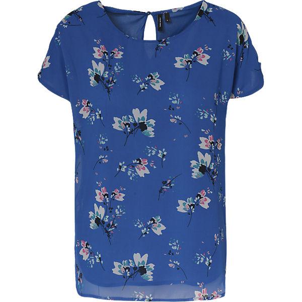 VERO MODA MODA MODA VERO blau Blusenshirt VERO blau blau Blusenshirt Blusenshirt xX1w8qF67