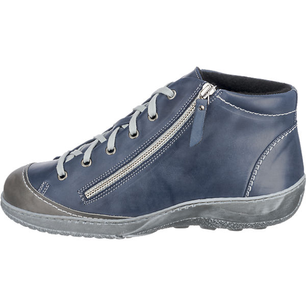 Double You, Double You beliebte Stiefeletten, blau-kombi  Gute Qualität beliebte You Schuhe f2d940