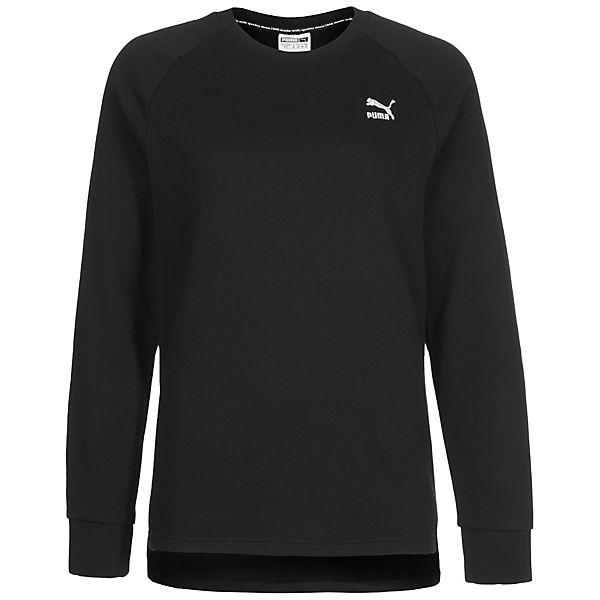 PUMA Archive Logo Crew Sweatshirt schwarz