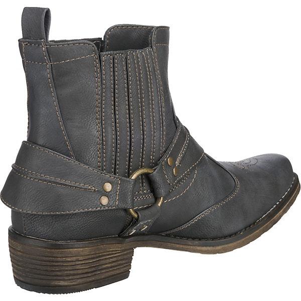 MUSTANG, Gute MUSTANG Stiefeletten, grau  Gute MUSTANG, Qualität beliebte Schuhe 0cca99