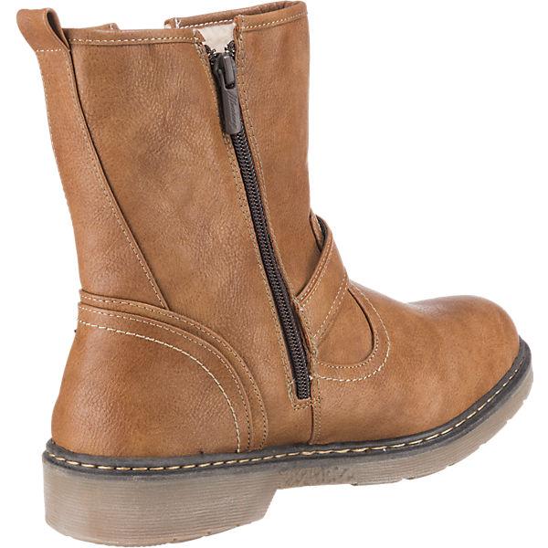MUSTANG, MUSTANG Stiefeletten, braun  Schuhe Gute Qualität beliebte Schuhe  4b3f7f