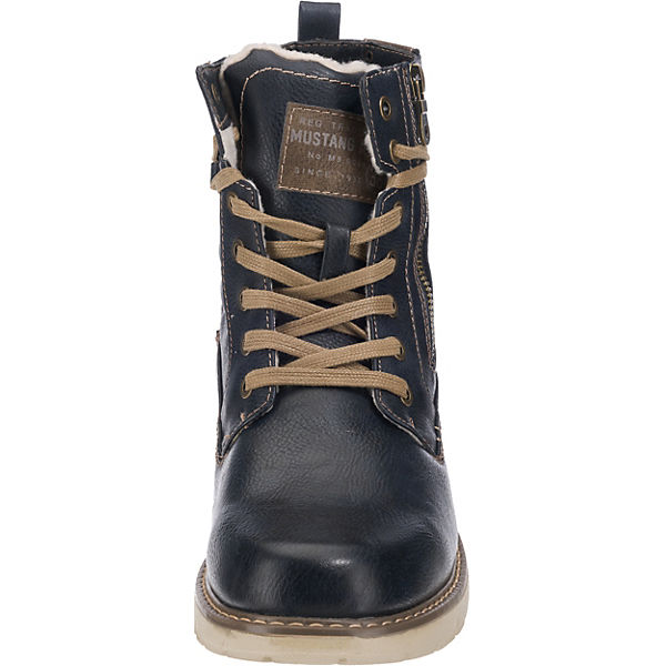 MUSTANG, Winterstiefel, dunkelblau    Gute Qualität beliebte Schuhe f7e49f