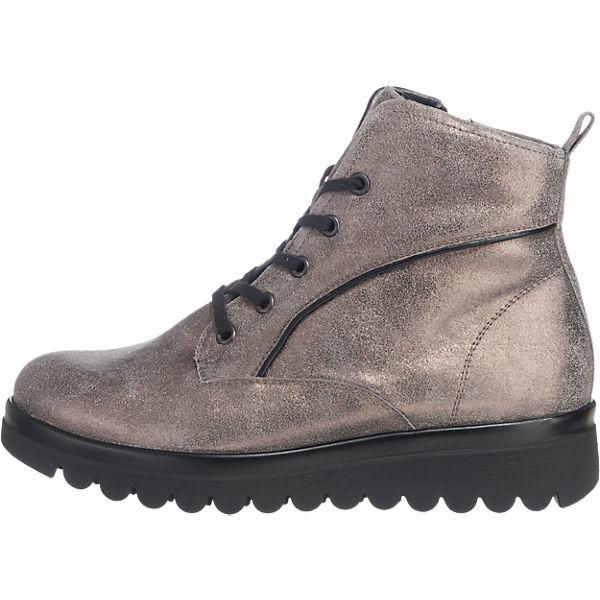 WALDLÄUFER, WALDLÄUFER Hodaya Stiefeletten weit, grau Schuhe  Gute Qualität beliebte Schuhe grau 046c5f