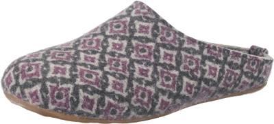 Haflinger HAFLINGER Everest Marlies Hausschuhe, grau, grau-kombi