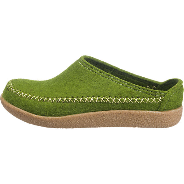 HAFLINGER HAFLINGER Blizzard Credo Hausschuhe grün  Gute Qualität beliebte Schuhe