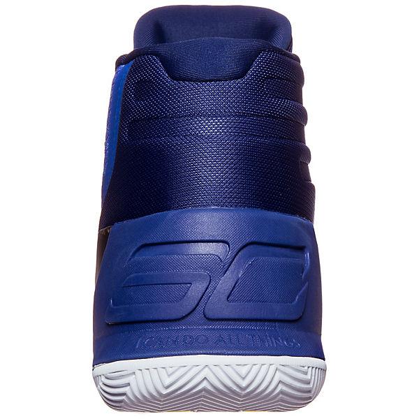 Under Armour, Under Armour Curry 3 Basketballschuh Herren, blau