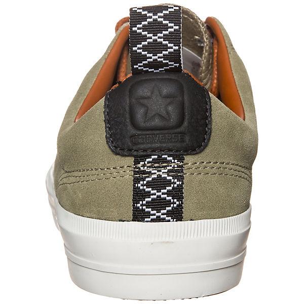 CONVERSE, Converse Star Player Premium  Suede OX Sneaker, khaki  Premium  06ef32