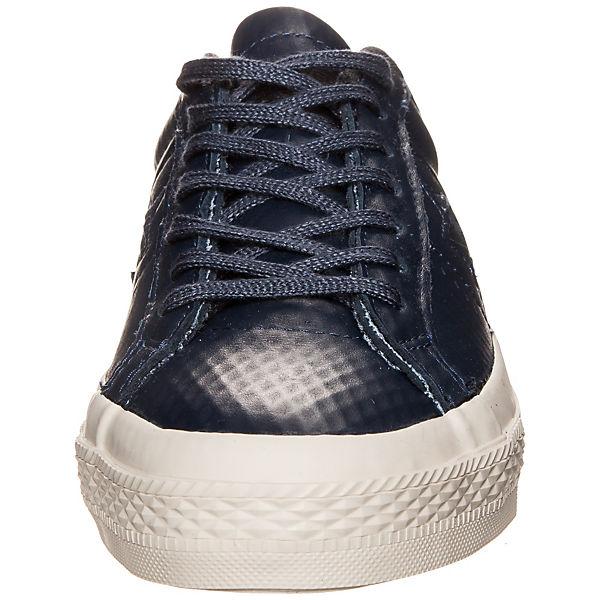 CONVERSE, Converse Cons Cons Cons One Star Leder OX Sneaker, dunkelblau  Gute Qualität beliebte Schuhe 481fe4