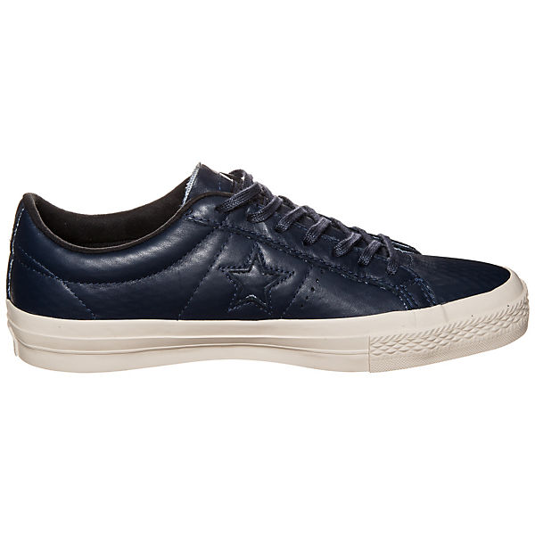 CONVERSE Converse Cons One Star Leather OX Sneaker dunkelblau