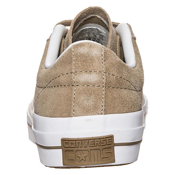CONVERSE, Converse Cons One Star Suede OX Sneaker, hellbraun