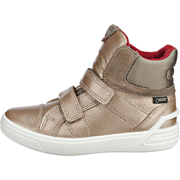 ecco Sneakers High GORE-TEX für Mädchen gold