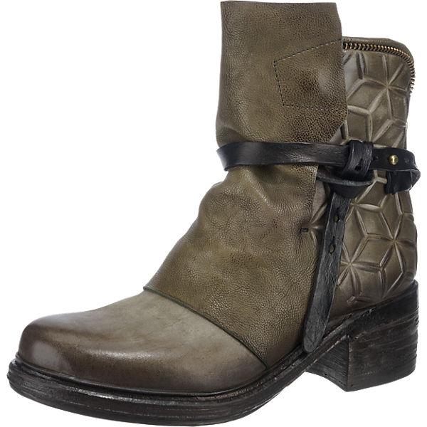 A.S.98, A.S.98 NOVA17 Qualität Stiefeletten, khaki  Gute Qualität NOVA17 beliebte Schuhe f81864