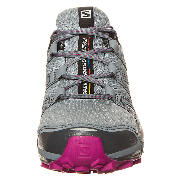 Salomon Salomon Speedcross Vario GTX Trail Laufschuh Damen grau-kombi