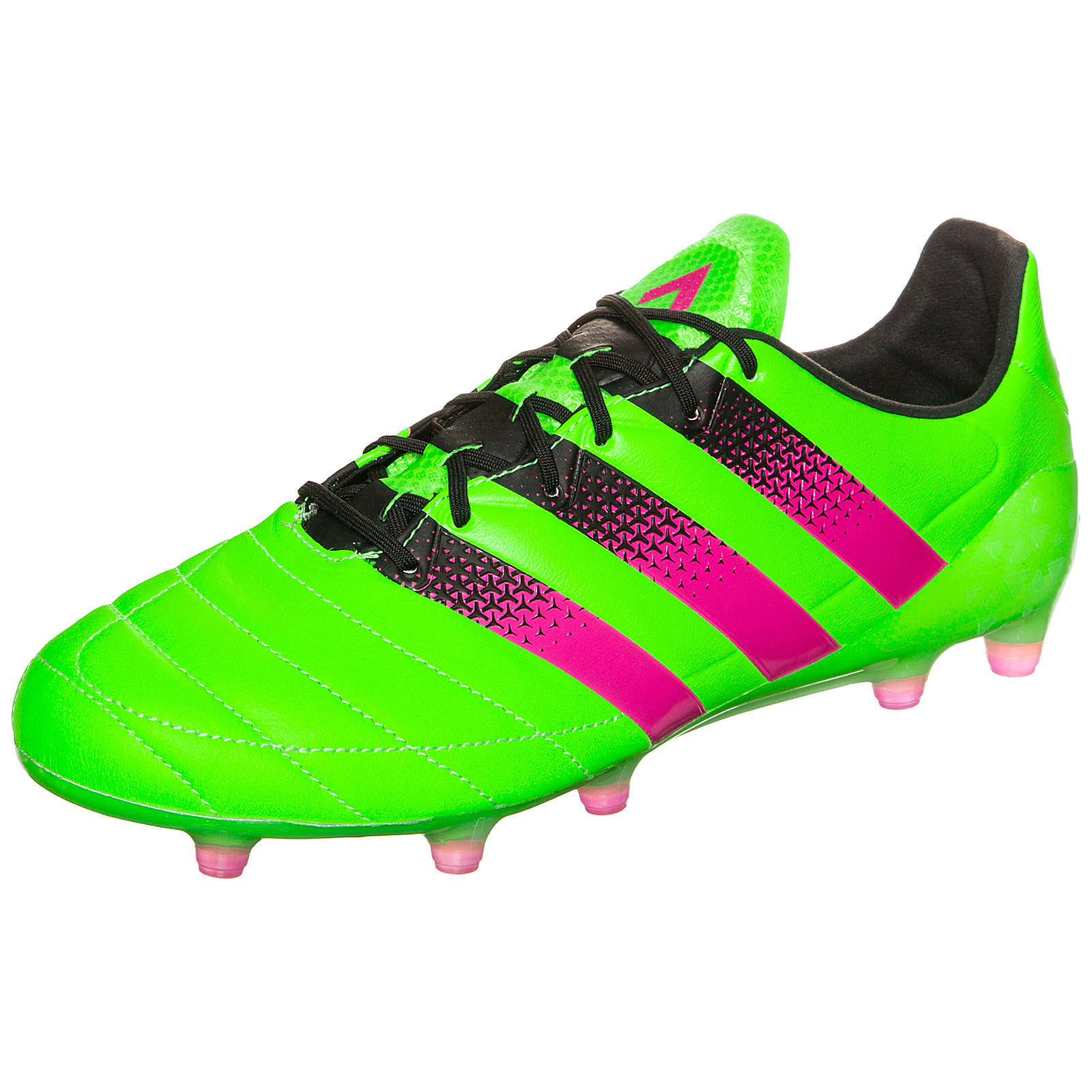adidas Performance adidas ACE 16.1 FG/AG Leather Fußballschuh grün Herren Gr. 45 1/3