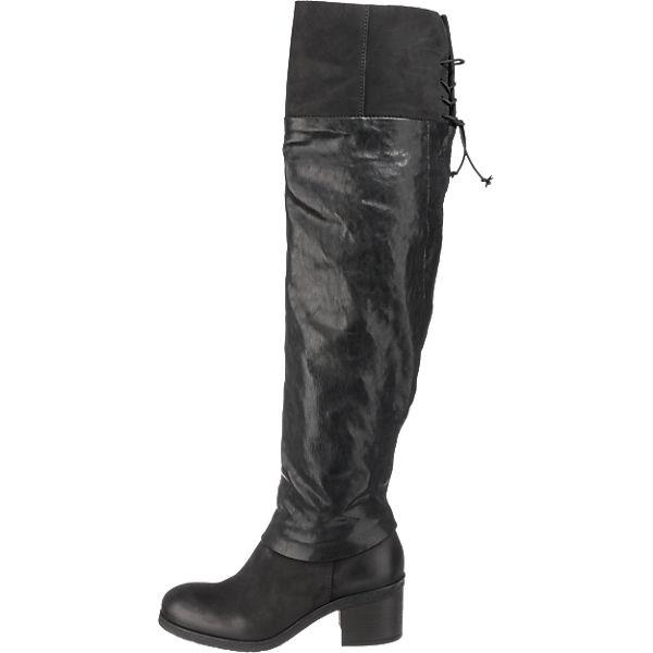 MJUS, Mjus Stiefel, schwarz Gute Qualität beliebte Schuhe