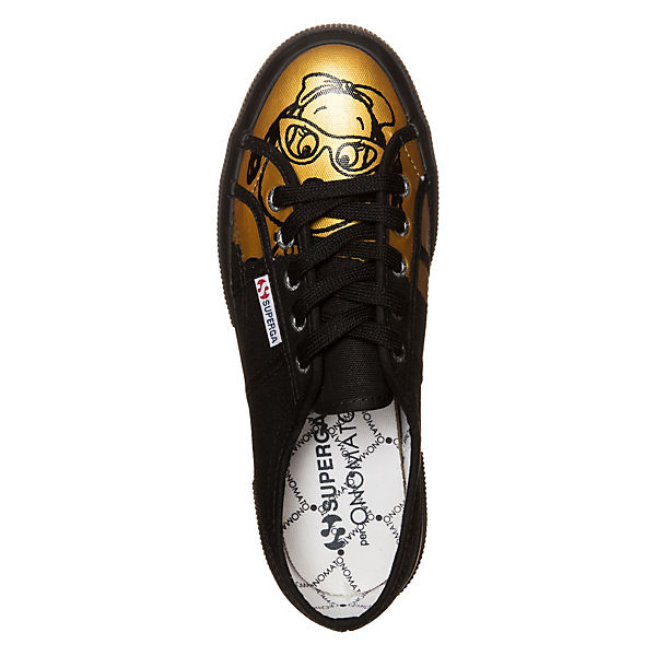 Superga®, Superga 2750 Fancot  Belle Sneaker Damen, schwarz-kombi  Fancot Gute Qualität beliebte Schuhe c8c29a