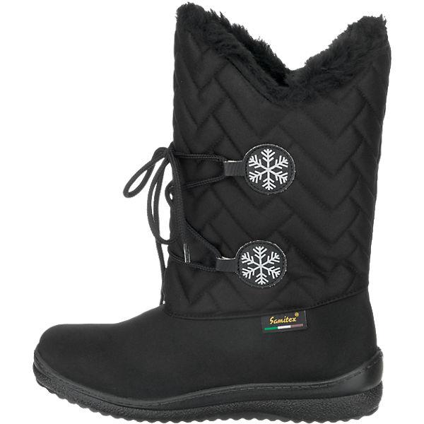 SAMITEX, SAMITEX Stiefel, schwarz  Gute Qualität beliebte Schuhe