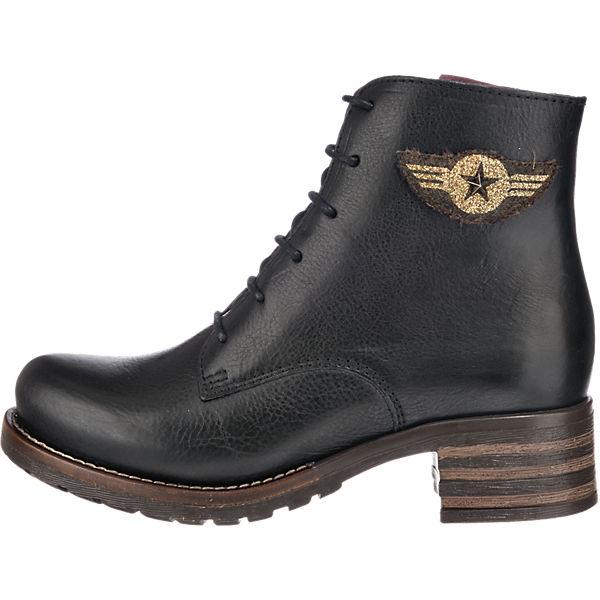 Brako, Brako Military Stiefeletten, schwarz Gute Qualität beliebte Schuhe