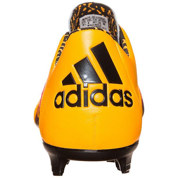 adidas Performance adidas X 15.1 FG/AG Leather Fußballschuh gelb-kombi  Gute Qualität beliebte Schuhe