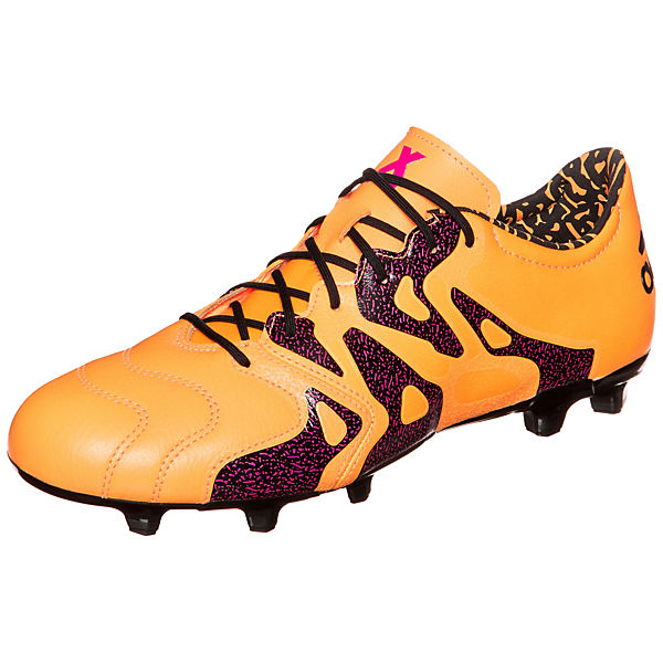 Fußballschuh Leather 2 15 adidas orange AG Performance X FG adidas qRwBCSwZ