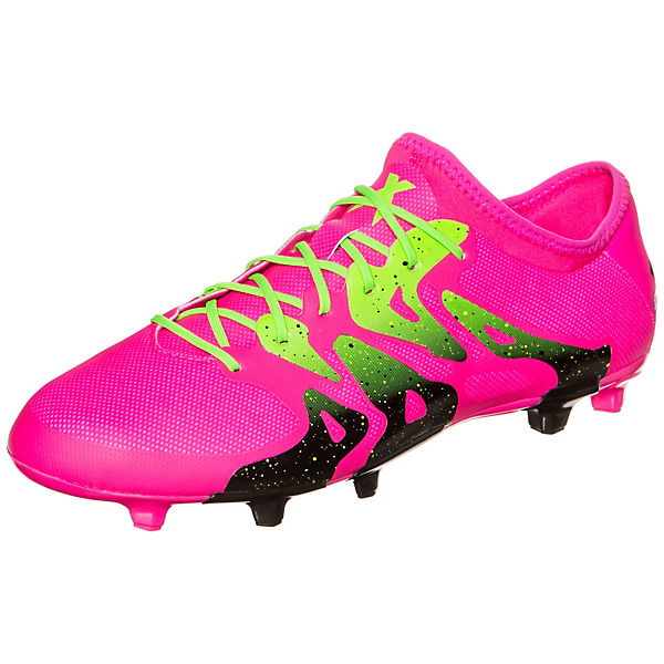 adidas Performance adidas X 15.2 FG/AG Fußballschuh pink