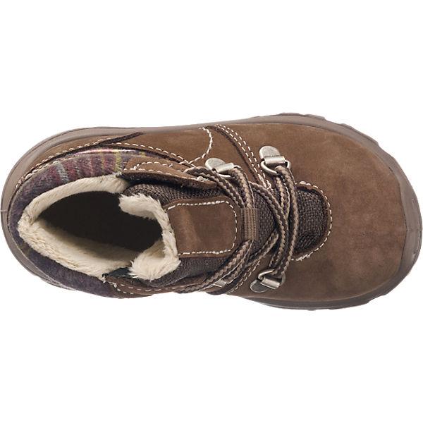 PEPINO by RICOSTA Baby Winterstiefel, Sympatex, Weite W für breite Füße, für Jungen braun
