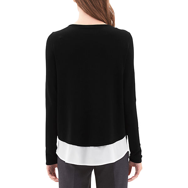 s LABEL Oliver schwarz BLACK Pullover qT0SP