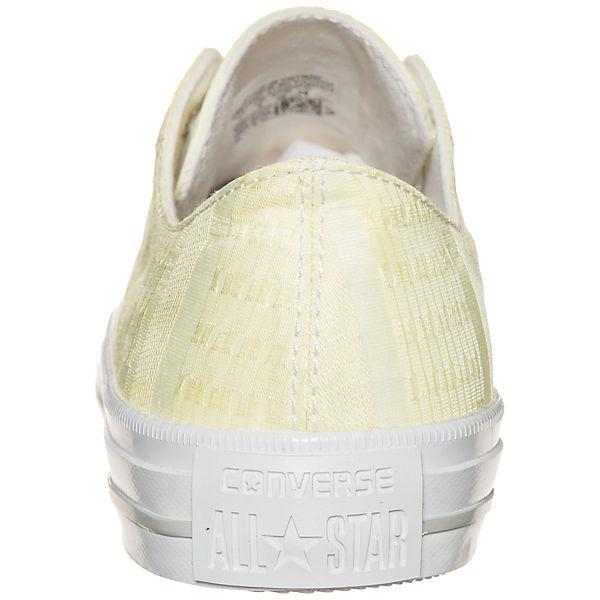 CONVERSE, OX Converse Chuck Taylor All Star Gemma OX CONVERSE, Sneaker, gelb   bff51d