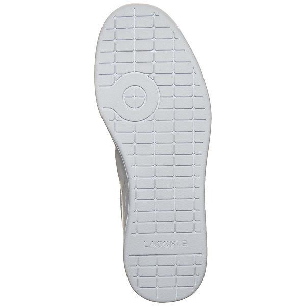 LACOSTE Lacoste Carnaby Evo Sneaker weiß
