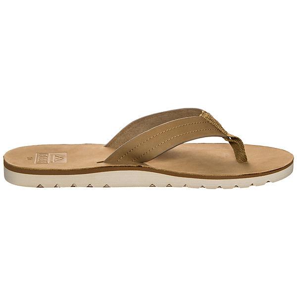 REEF, hellbraun Reef Voyage LE Pantoletten, hellbraun REEF,  Gute Qualität beliebte Schuhe 213cd2
