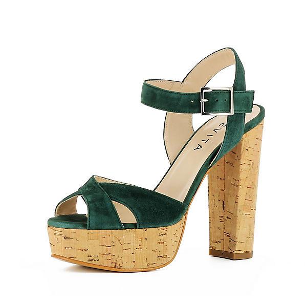 Evita Evita Sandaletten Shoes Shoes grün nFpFw6q4x