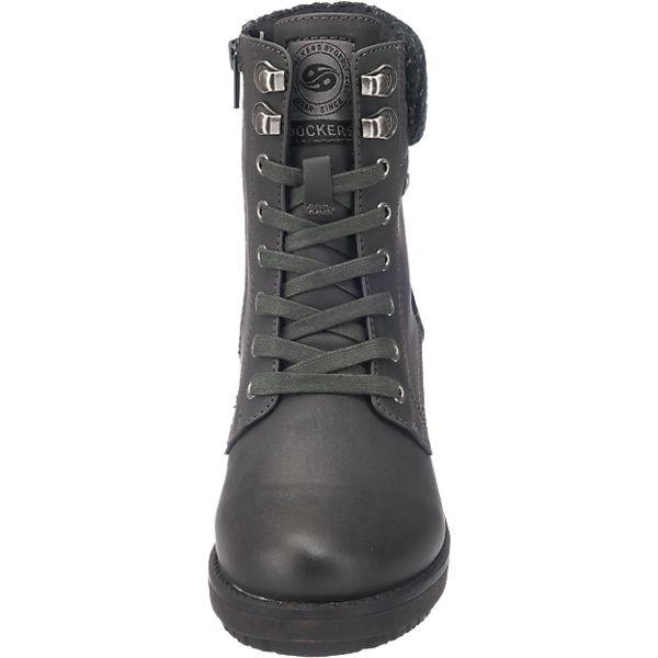 Dockers  by Gerli, Dockers by Gerli 41CH304-630100 Stiefeletten, schwarz  Dockers Gute Qualität beliebte Schuhe a4eac9