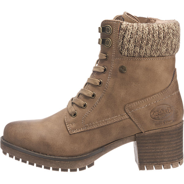 Dockers by Gerli, Dockers by Gerli 41CH304-630440 Stiefeletten, braun  Gute Qualität beliebte Schuhe